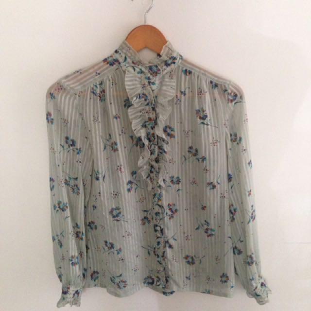 Retro blouse