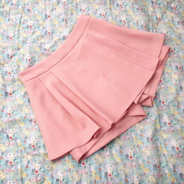 RRP $70! Pink Skirt + Short (Skort) S/8