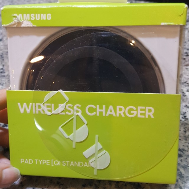 Samsung pad type wireless charger