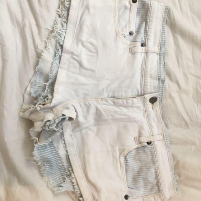 Sass and hide shorts