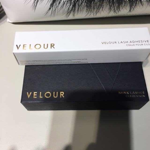 Sephora velour mink lashes