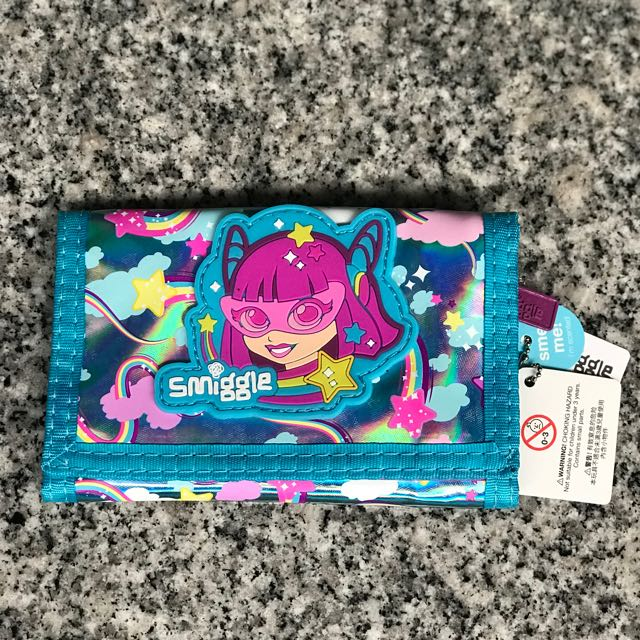 Smiggle Character World Wallet