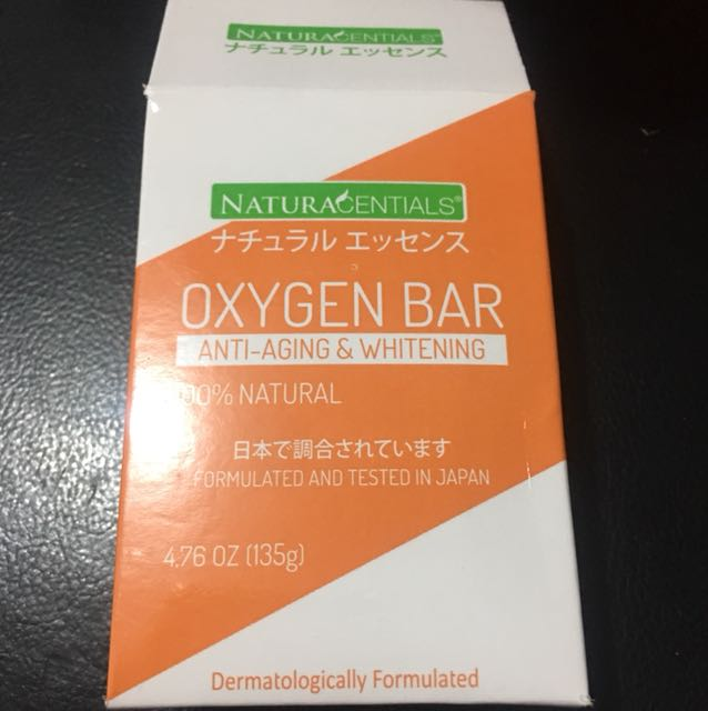 Soap anti aging&whitening oxygen bar