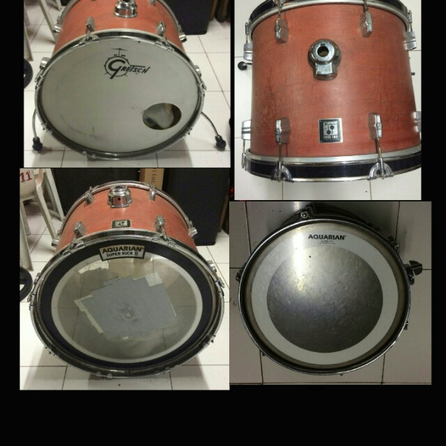 Sonor drum shells ( bass, tom and floor tom)