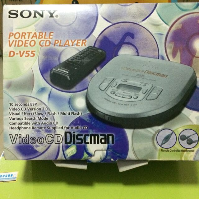 Sony VCD Portable Player