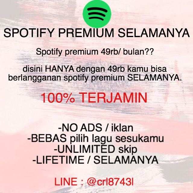 SPOTIFY PREMIUM IOS / ANDROID
