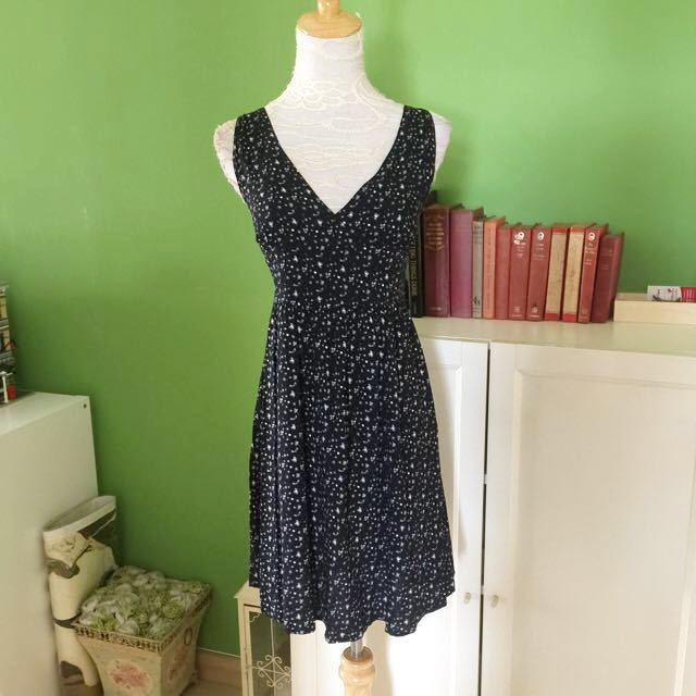 Summer Dress in Navy Blue