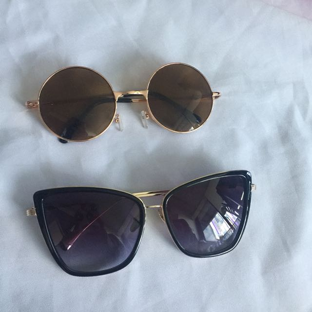 Sunglasses $5.00 each