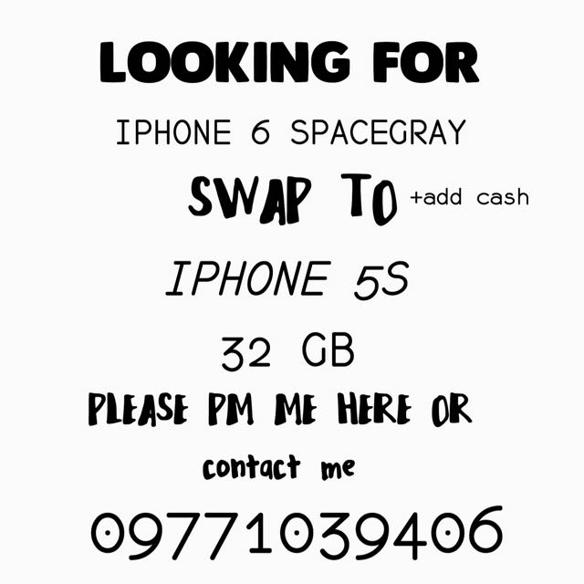 SWAP IPHONE 5S TO IPHONE 6