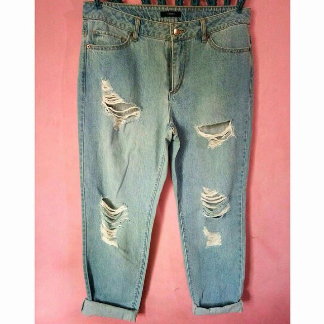 Tattered Jeans (plus size)
