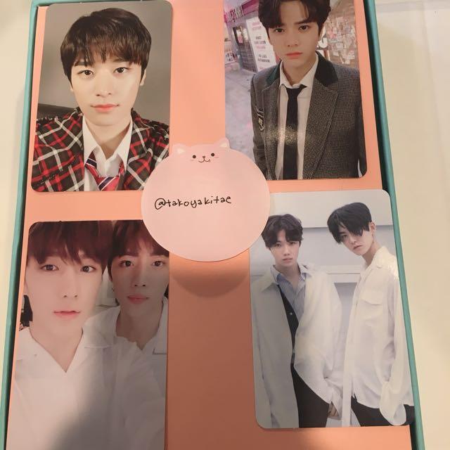 The Boyz The First Fresh Version photocard younghoon juyeon hyunjae sunwoo new hwall chanhee