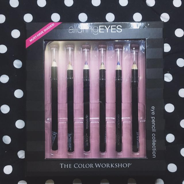 The Color Workshop Alluring Eyes Eye Pencil Collection (6 Eyeliners)