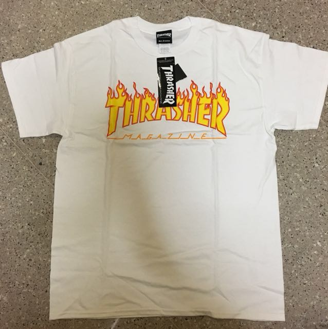 Thrasher Flame White