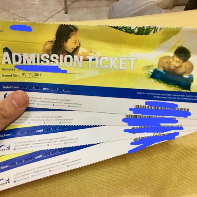 Ticket Waterboom Pik termurah