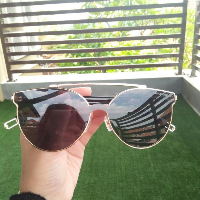 Tilda Swinton x Gentle Monster Sunglasses /Shades Fashion Eyewear Premium Quality In Black Gold 😍
