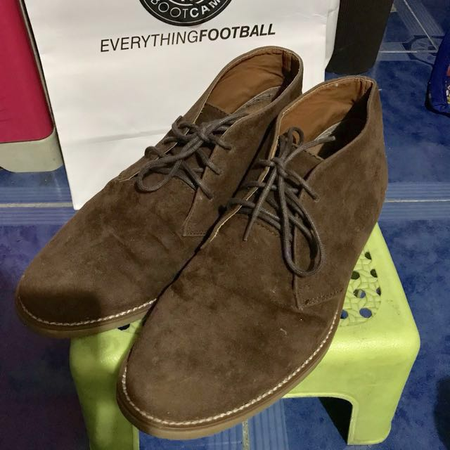 Topman Suede Shoes, Men's Fashion