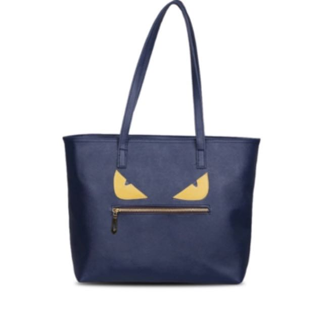 tote monster navy