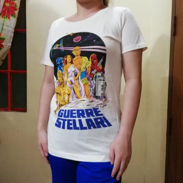 """L Uniqlo """"star wars"""" Shirt"""