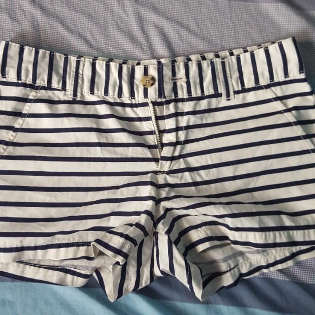 Uniqlo Stripe Shorts