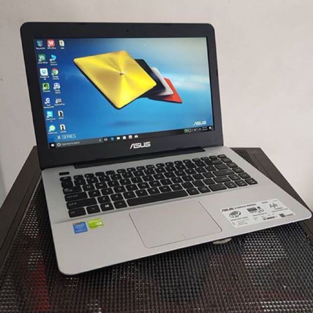 Very Smooth Asus X455L 14inch i3 5gen 1tb 4gbram with 2gb Nvidia 930M Videocard
