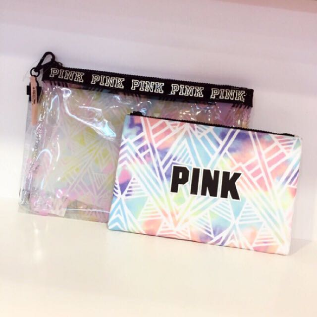 Victoria's Secret PINK 收納包組合✨