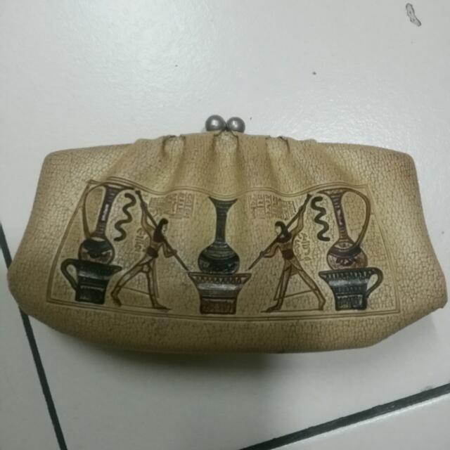 Vintage Egyptian Coin Bag (Rare Item)