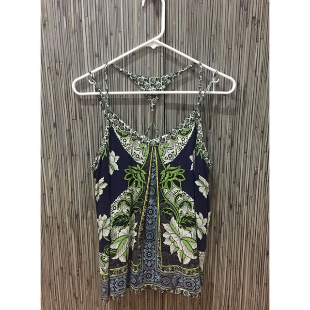 Warehouse Blue Orchid Top