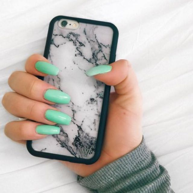 Wildflower Marble iPhone 6s+ case