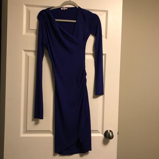 Wilfred Free dress - colbalt blue xs