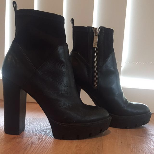WITTNER Black boots Size 38