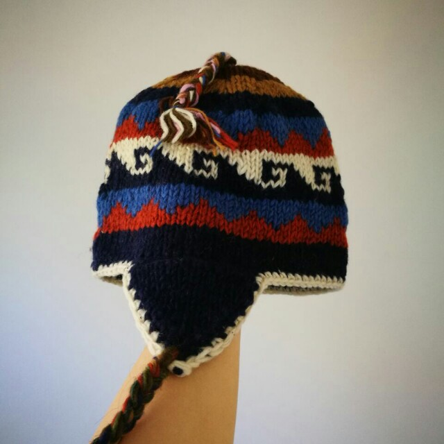 Wool hat handmade in Nepal