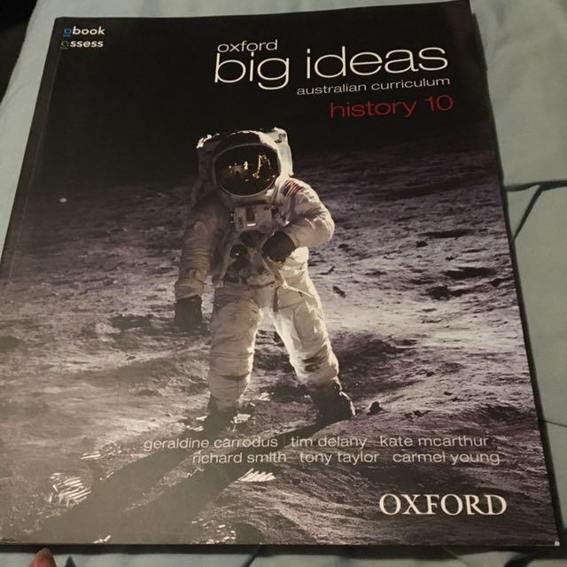 Year10 Oxford Big Ideas Australian Curriculum History 10