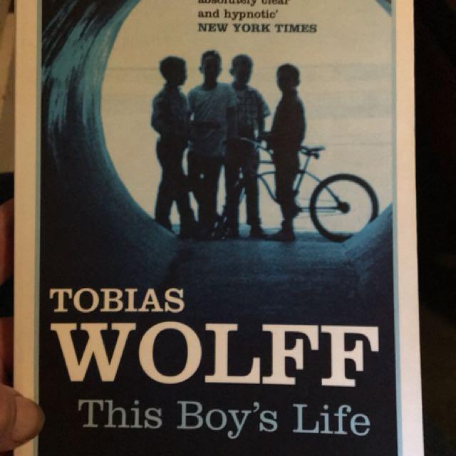 Yr12 English novel 'This Boys Life' by Tobias Wolf