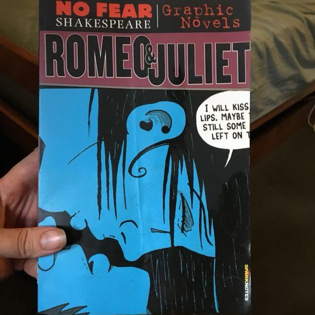 Yr 8 English 'Romeo & Juliet' No Fear Shakespeare Graphic novel