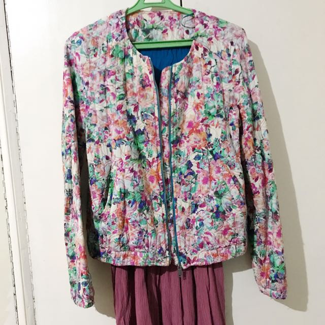 Zara Floral Jacket - Small