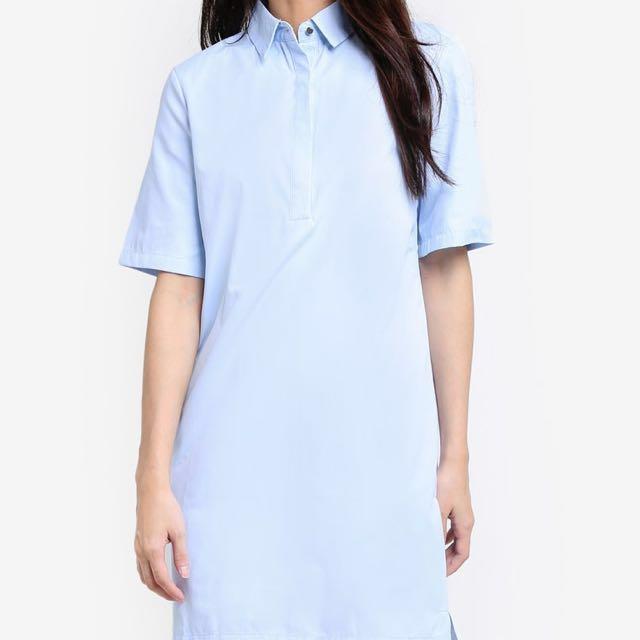 Zara inspired collared dress