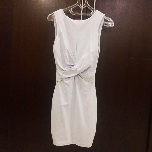 Zara TRF Backless Dress