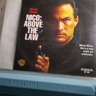 VCD - ABOVE THE LAW (1988) action steven seagal