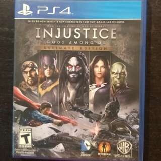 New/Sealed PS4 Injustice
