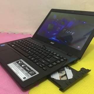 Very smooth and Presentable ACER E14 Intel core i3-4th gen Laptop