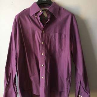 Tommy Hilfiger purple dress shirt