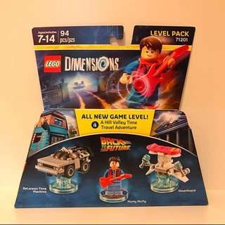 LEGO dimensions level pack 71201 BACK TO THE FUTURE