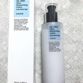 Cosrx oil-free ultra moisturising lotion (with birch sap)