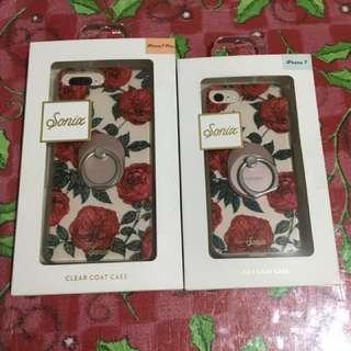 Sonix Case for iPhone 7 & 7 Plus + spigen Ring