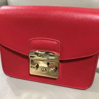 Furla mini bag 100% new