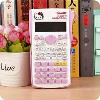 Hello Kitty Scientific Calculator