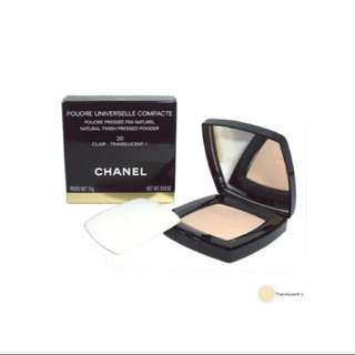 Chanel pressed power