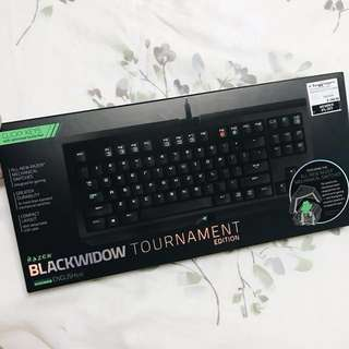 Razer Blackwidow Tournament Edition gaming keyboard