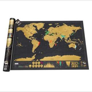 Scratch Maps For Sale