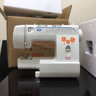 全新iSew IS-200V電動家用縫紉機,100%全新。